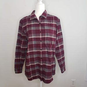 The North Face Flannel Shirt Plaid